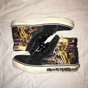 """VANS Iron Maiden """"Killers"""" Hightop Shoes"""